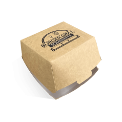 Scatole per hamburger 117x117x80 mm