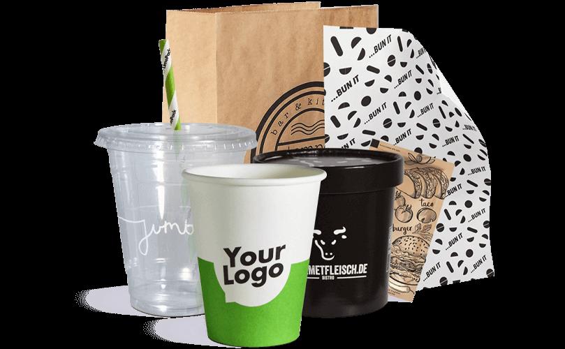 Contenitori e imballaggi da asporto personalizzati